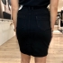 LaNorsa denim skirt black