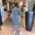 LaNorsa midi dress dotts blue