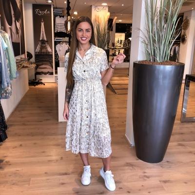 LaNorsa white maxi dress (uitverkocht)