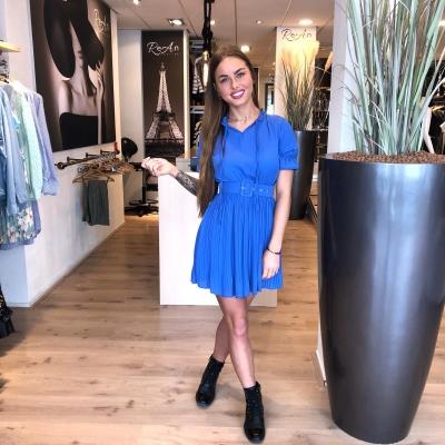 LaNorsa kobaltblue dress