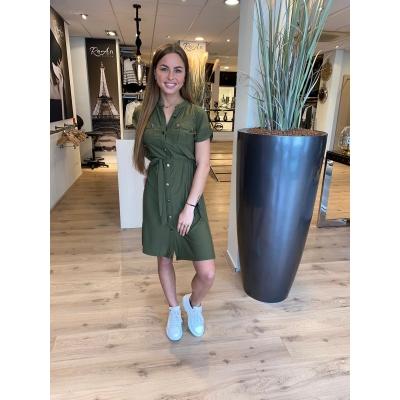 LaNorsa green dress