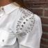 LaNorsa blouse white stone