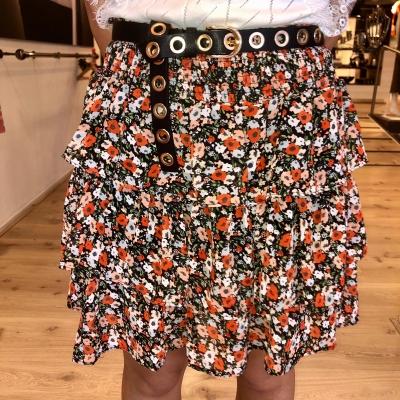LaNorsa skirt orange roses