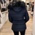 LaNorsa dons black coat