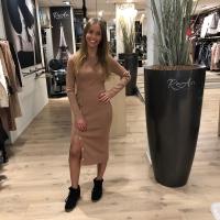 Sand stretch dress