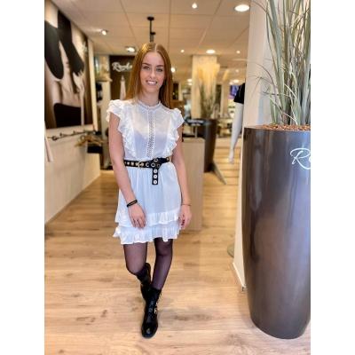 LaNorsa white romantic dress