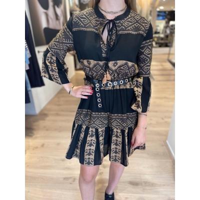 LaNorsa Aztec dress