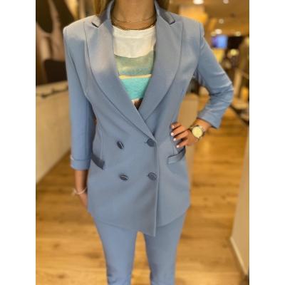 LaNorsa blue suit