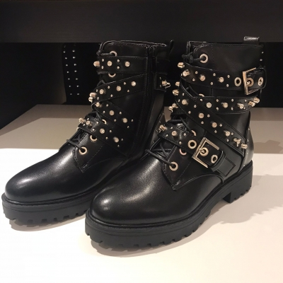 Bling silver boots