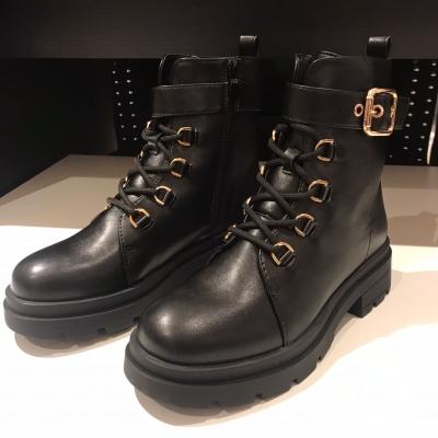 Gold walk boots