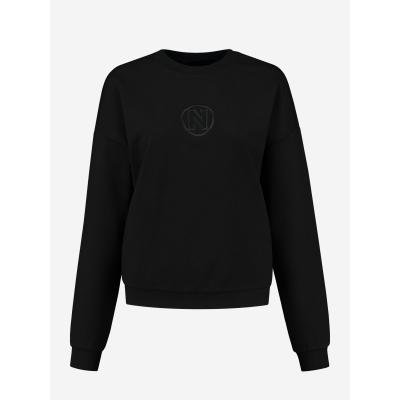 NIKKIE Punta Balloon sweater black